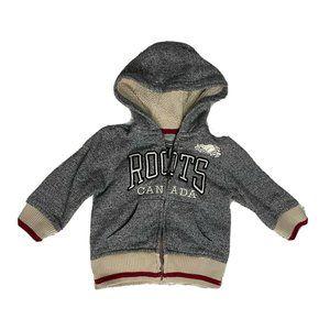 Roots Canada Medium 6 12 Months Hoodie Jacket Baby